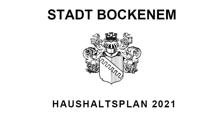 Haushaltsplan der Stadt Bockenem 2021